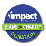 Impact Credit Union Jeans for Charity Program